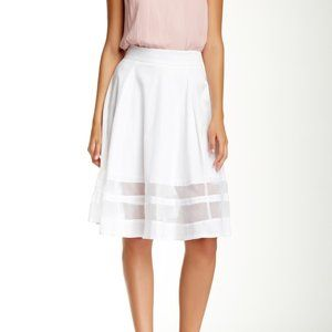 Amanda & Chelsea Organza Trim Circle Skirt size 10